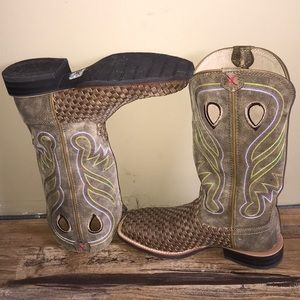 Ladies Twisted X boots.